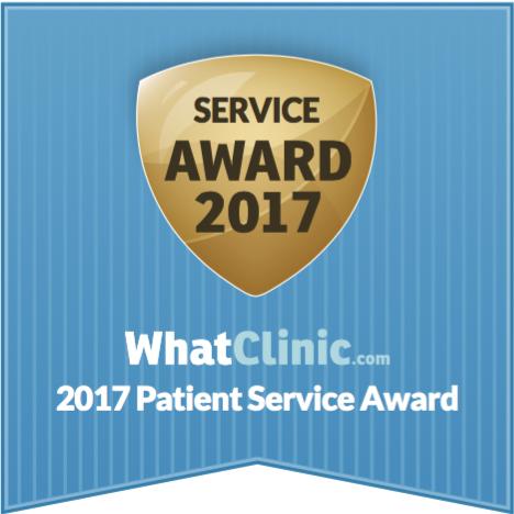 Patient service award 2017 logo