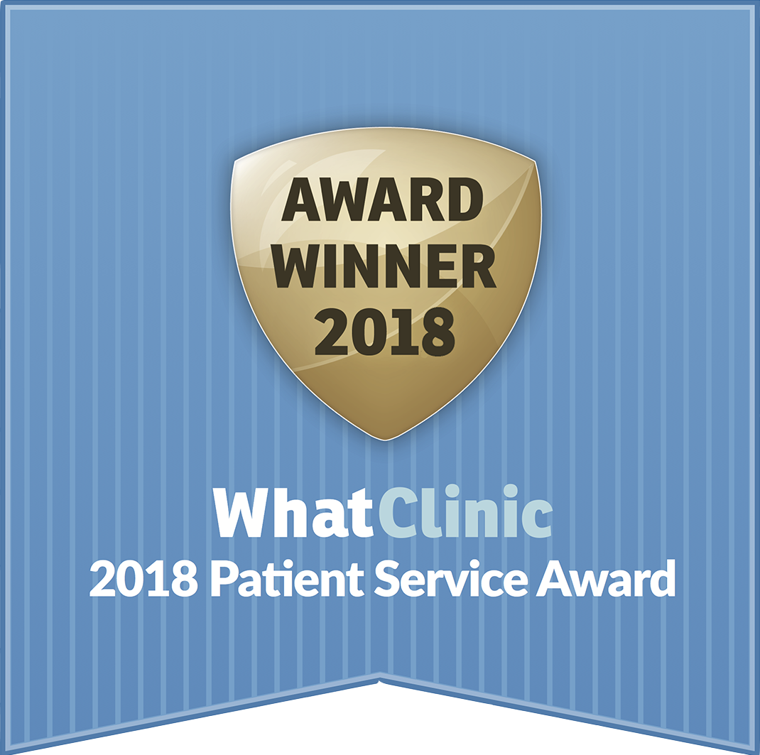 Whatclinic 2018 badge